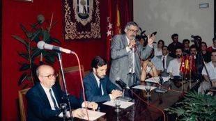 Fallece el exconcejal del PSOE en el Ayuntamiento de Madrid Eugenio Morales