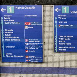 Metro reabrirá la línea 1 este domingo