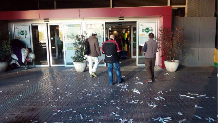 Huelga de limpieza en Atocha