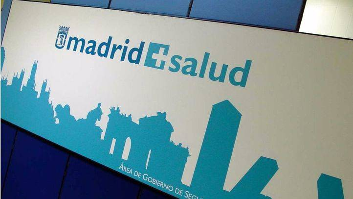 Logotipo de Madrid Salud