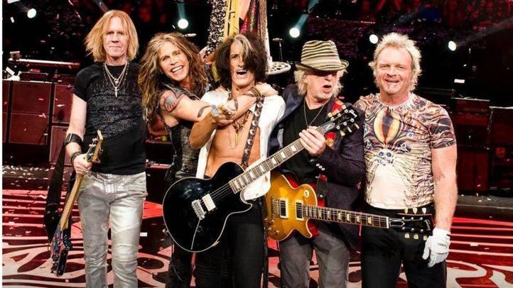 Aerosmith actuará en Rivas en junio de 2017