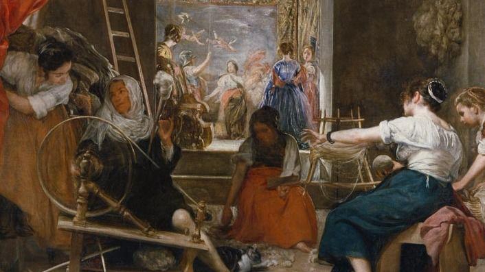 'Las Hilanderas' de Velázquez en la exposición 'Metapintura'