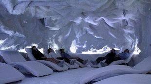 Cueva de sal en Madrid