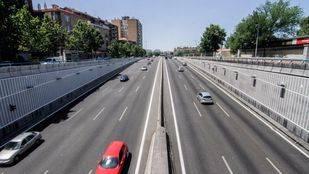 El puente de la autovía A-5 con la M-40 abre al tráfico este domingo