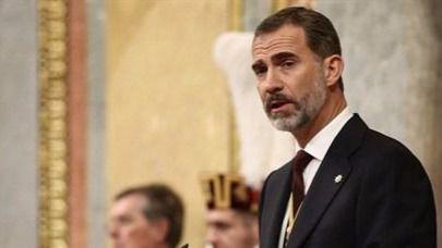 Felipe VI abre la Legislatura pidiendo