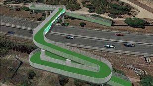 Una pasarela peatonal y ciclista unirá la urbanización Rosa Luxemburgo con la Casa de Campo