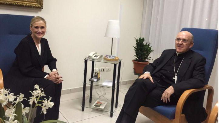 Cifuentes 'se confiesa' en Roma y pide