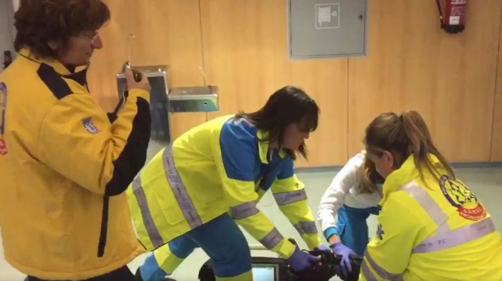 El 112 sorprende con un 'mannequin challenge' de 'emergencia'