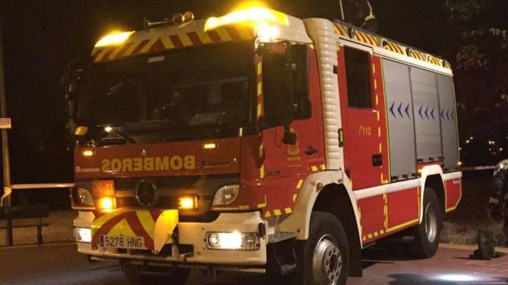 Una mujer, grave tras el incendio de su vivienda en Galapagar