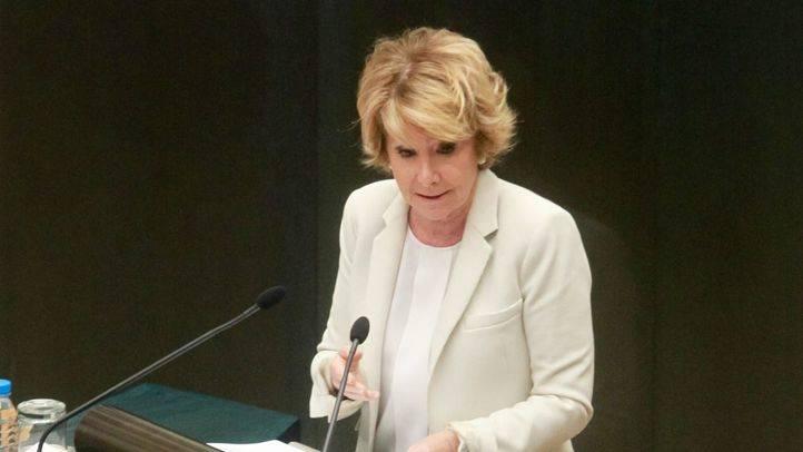 Aguirre asegura que Ahora Madrid 'pretende incumplir' la regla de gasto en 600 millones de euros