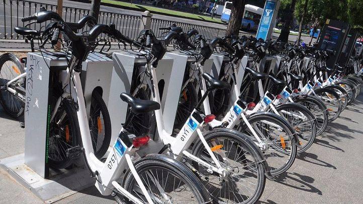 La EMT busca patrocinador para insertar en las bicicletas de BiciMad