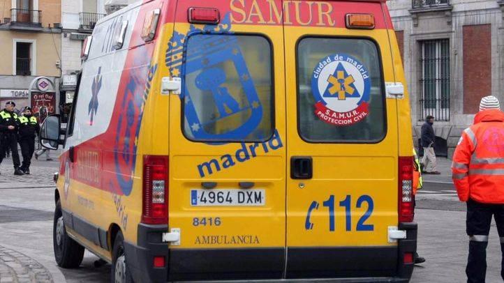 Desalojado el Instituto de Crédito Social, en el Paseo del Prado, por un pequeño incendio