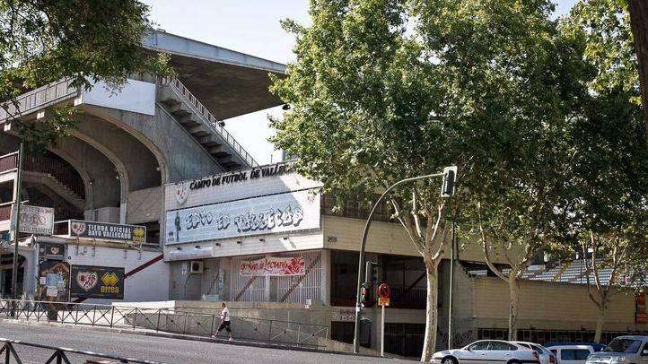 Estadio Teresa Rivero donde juega el Rayo Vallecano.