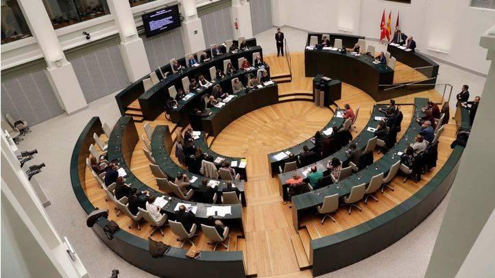 El Pleno al completo del Ayuntamiento de Madrid ha aprobado una resolución contra la violencia machista