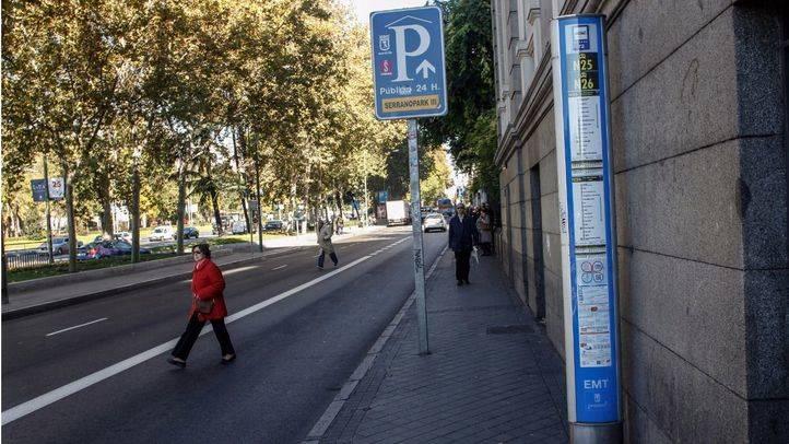 El Ayuntamiento ampliará las aceras más estrechas del eje Prado-Recoletos
