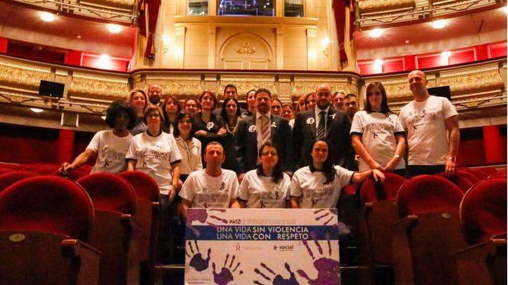 Clece conciencia contra la violencia de género en el Teatro Real