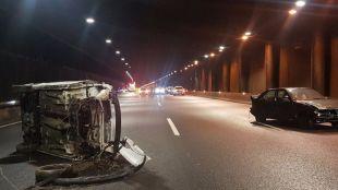 Un simulacro de emergencia cerró los túneles de la M-30