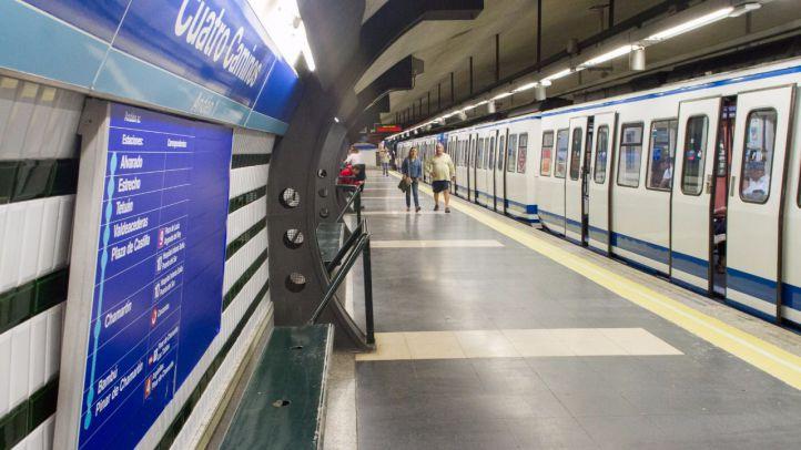 Restablecido el servicio en la línea 1 de Metro entre Plaza de Castilla y Cuatro Caminos