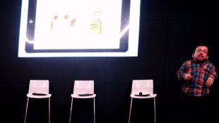 Joan Pahisa, impulsor de la aplicación para dispositivos 'Jocomunico'