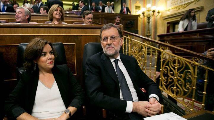 Rajoy y Sáez de Santamaría. (Archivo)