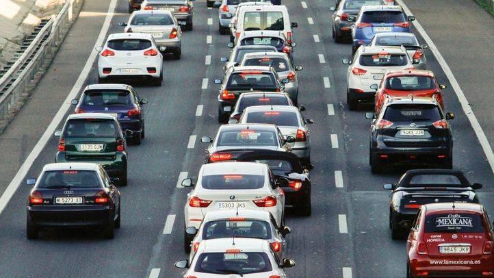 Tráfico en las carreteras de Madrid