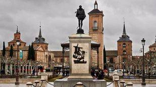 Plaza de Cervantes de Alcalá de Henares.