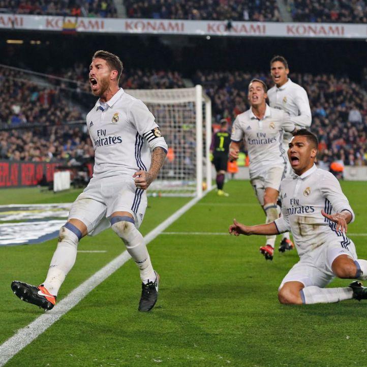 El Real Madrid empata en el último suspiro ante el Barça