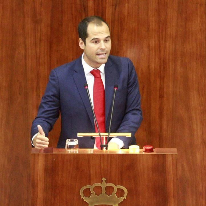 Ignacio Aguado, El portavoz de Ciudadanos (C's) en la Asamblea de Madrid