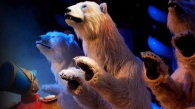 Los osos polares llegan al Teatro Circo Price