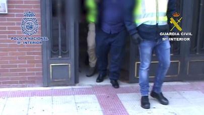 La Policía Nacional y la Guardia Civil han detenido a ocho personas en la Comunidad de Madrid