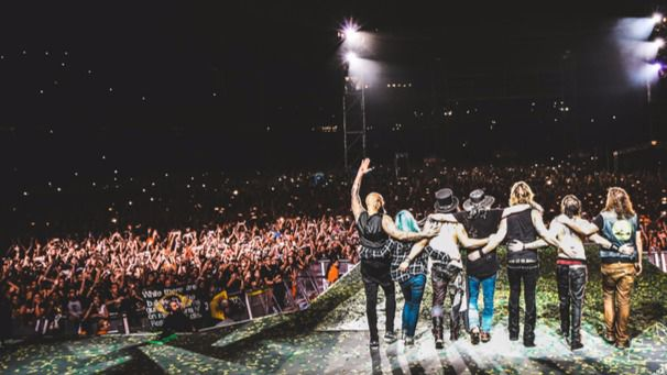 Guns n' Roses actuarán en Madrid en su gira por España