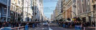 Madrid valorará tras la Navidad el cierre de la Gran Vía de cara a la ampliación de aceras