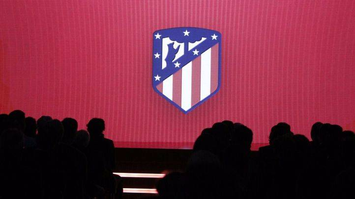 Nuevo escudo del Atlético de Madrid