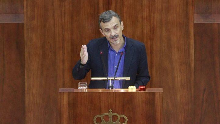 José Manuel López, portavoz de Podemos en la Asamblea de Madrid.