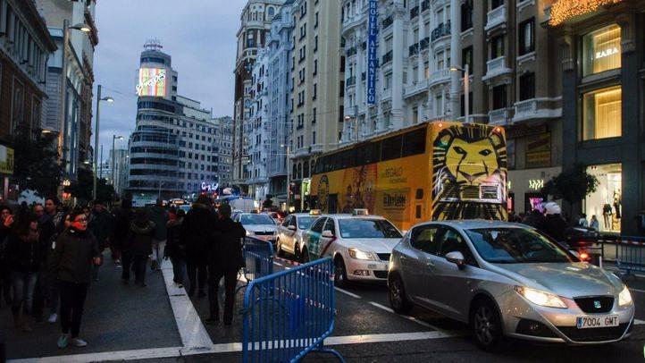 Los autobuses turísticos de empresas privadas también podrán circular por la Gran Vía