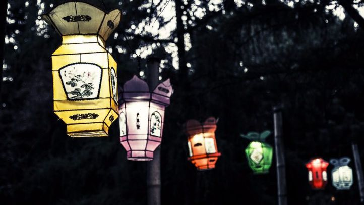 El Ayuntamiento celebrará el solsticio de invierno con miles de farolillos en Madrid Río