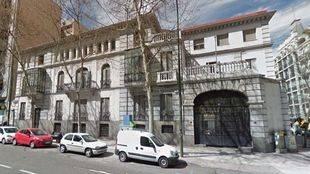 Palacete de la calle Velázquez, 107