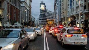 El cierre de Gran Vía reduce la contaminación en el centro