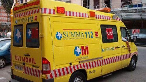 Herida grave en un choque frontal entre dos vehículos en San Martín de la Vega