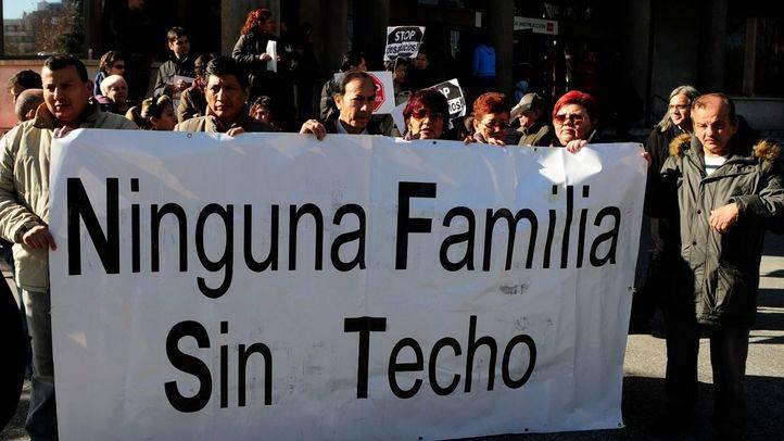 Concentración STOP desahucios en Plaza Castilla
