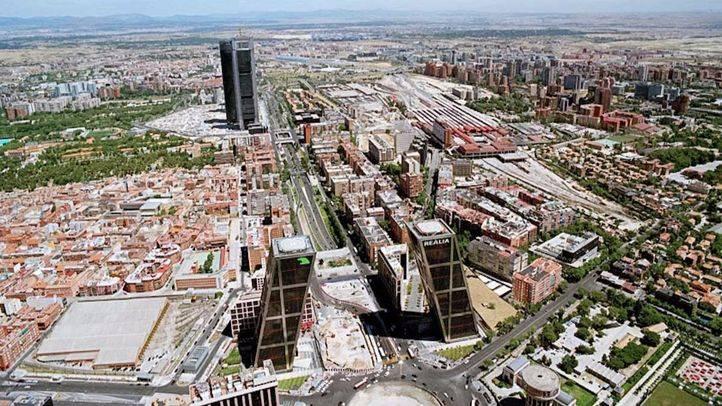 Nuevo proyecto Distrito Castellana Norte que sustituye a la 'operación Chamartin'. (Archivo)