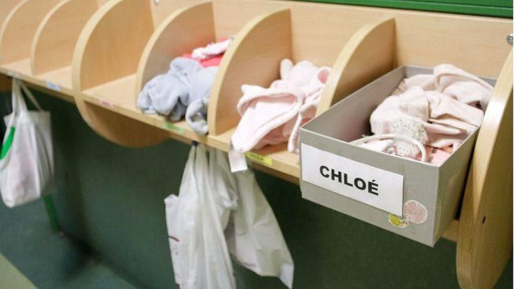 Escuela infantil pública La Paloma en la calle Tabernillas. (Archivo)