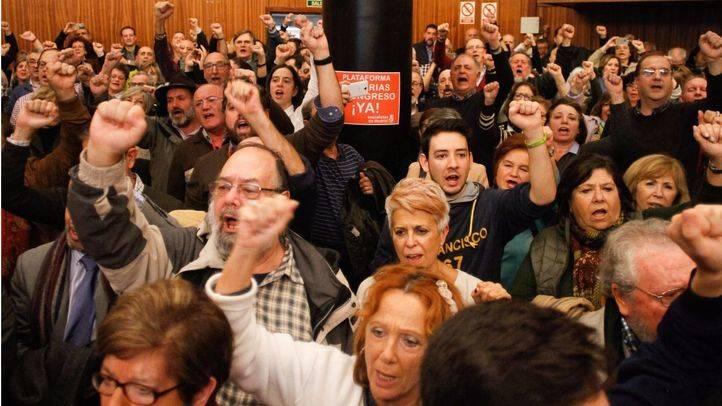 Centenares de personas presentan una plataforma para pedirle al PSOE unas primarias