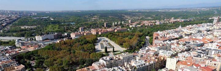 Vistas aéreas desde Torre Madrid