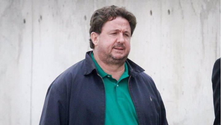 José Luis Peñas entrando a la Audiencia Nacional.