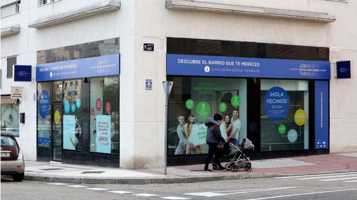 Distrito Castellana Norte abre su segunda oficina de información en Las Tablas
