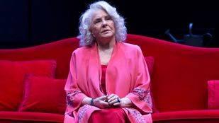Suspendida durante una semana 'La velocidad del otoño' por la caída de Lola Herrera