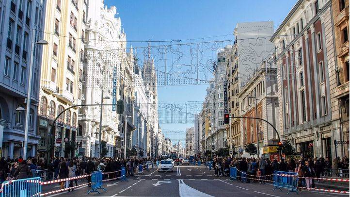 Calle Gran Vía. (Archivo)