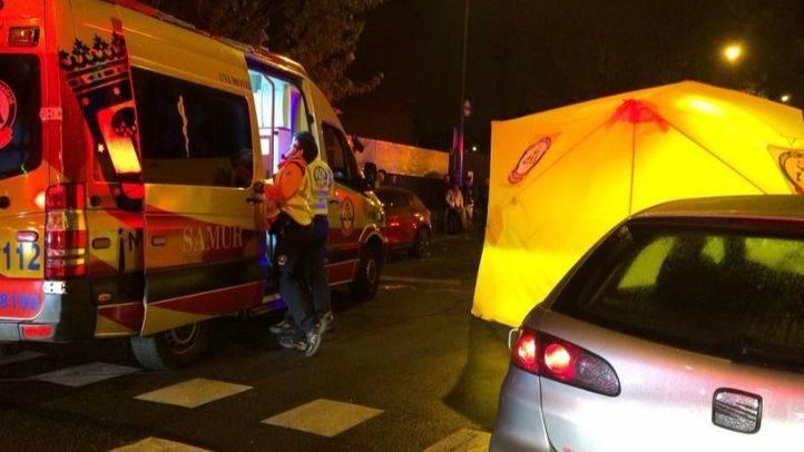 Los servicios de emergencias en Vía Carpetana