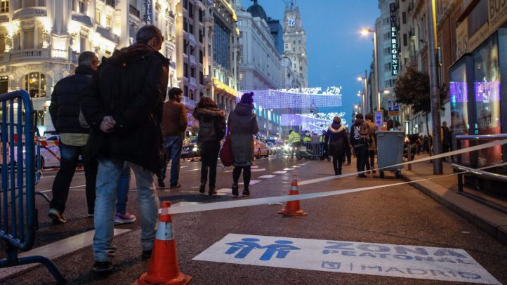 Más espacios para los peatones en la Gran Vía